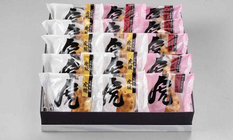 虎焼(つぶあん)&いちじく虎焼(無花果あん)15個入